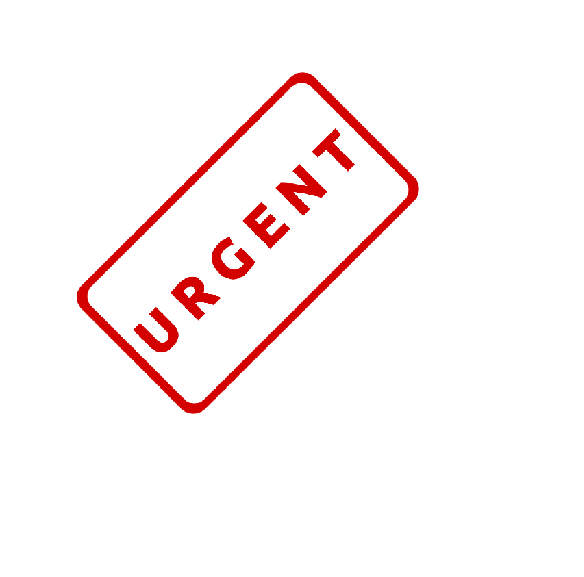 What if it's really urgent?